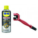 Kit Cire Chaine WD40 SPRAY33788 + brosse nettoyage OUT1015